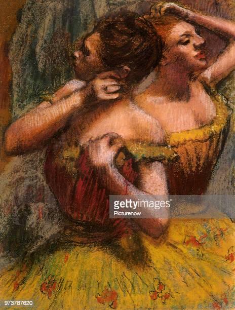 Ballerinas Backstage Degas Edgar 1898
