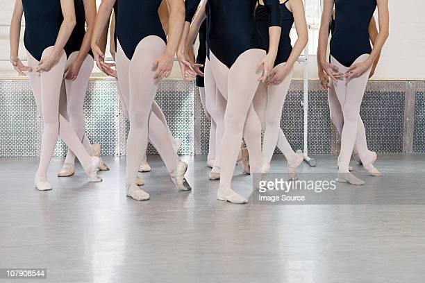 ballerinas dancing - leotard stock pictures, royalty-free photos & images