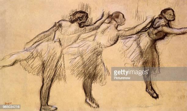 Ballerinas in Arabesque Degas Edgar