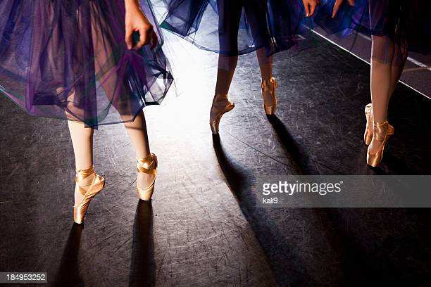 Ballerinas en pointe