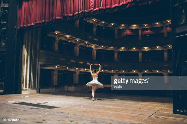 ballerinas life - rehearsal stock pictures, royalty-free photos & images