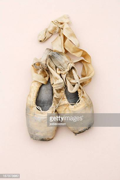 Ballerina's Pointe Shoes