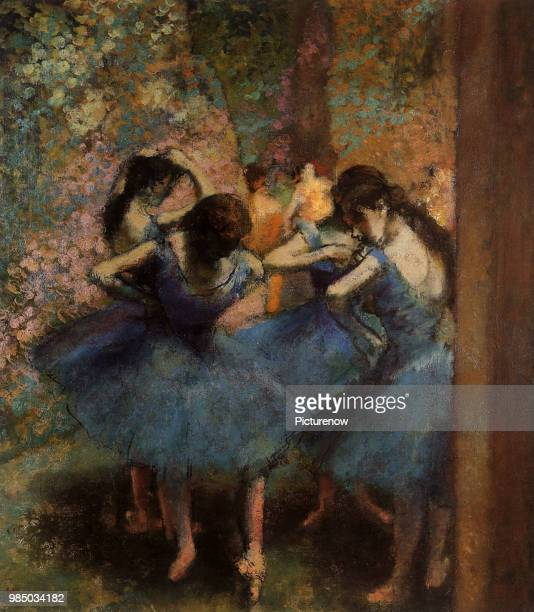 Ballerinas Wait For Cue Degas Edgar
