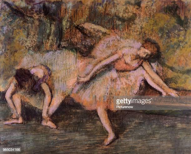 Ballerinas Warm Up Degas Edgar