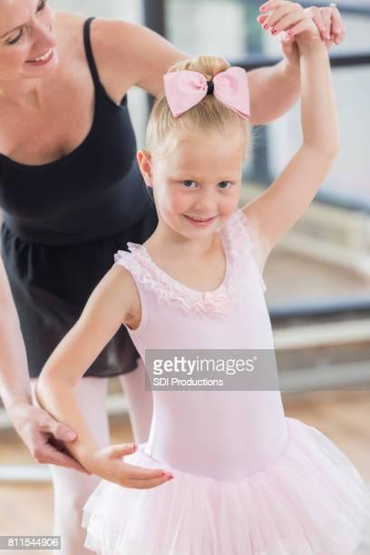 Ballet beauty practices for recital