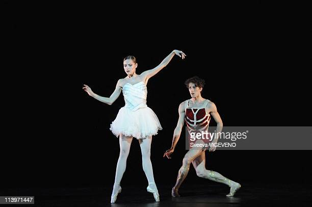 Ballet Caligula at Opera Garnier In Paris France On January 26 2011 Rehearsal of Ballet Caligula written by Albert Camus and directed by Nicolas Le...