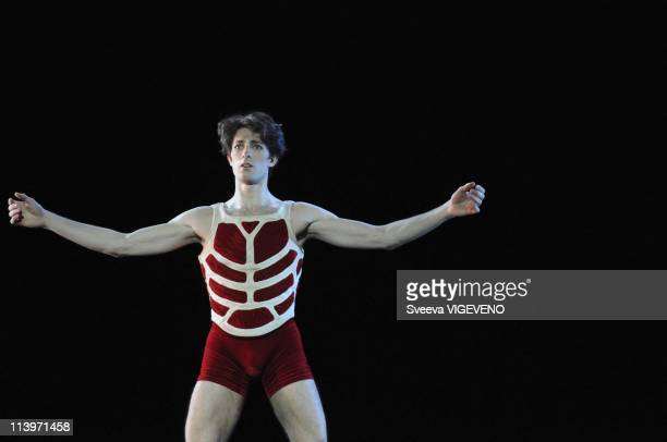 Ballet Caligula at Opera Garnier In Paris, France On January 26, 2011- Rehearsal of Ballet Caligula written by Albert Camus and directed by Nicolas...