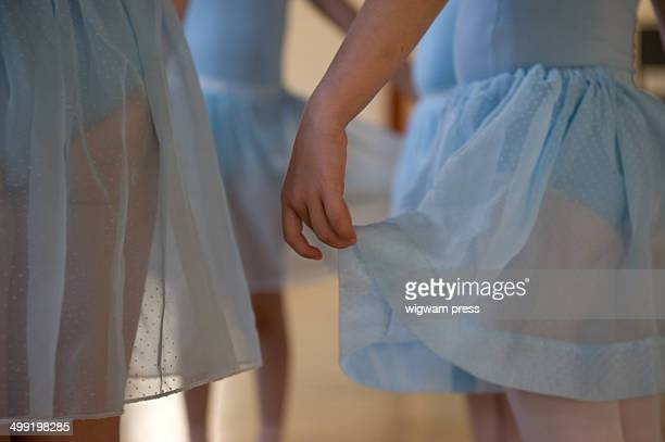 ballet class - tulle netting stock pictures, royalty-free photos & images