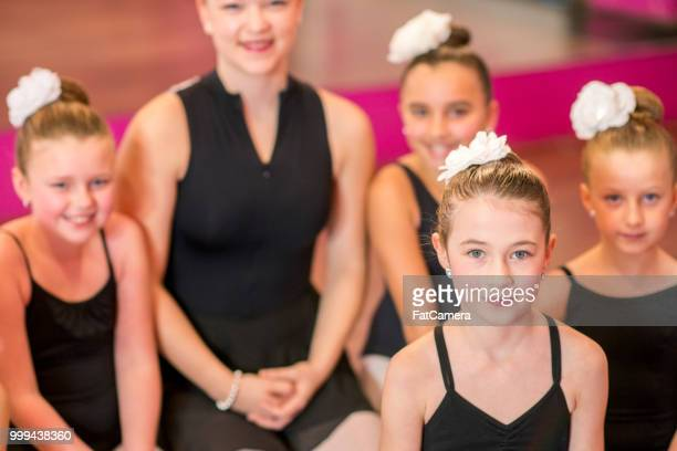 Ballet dance girls