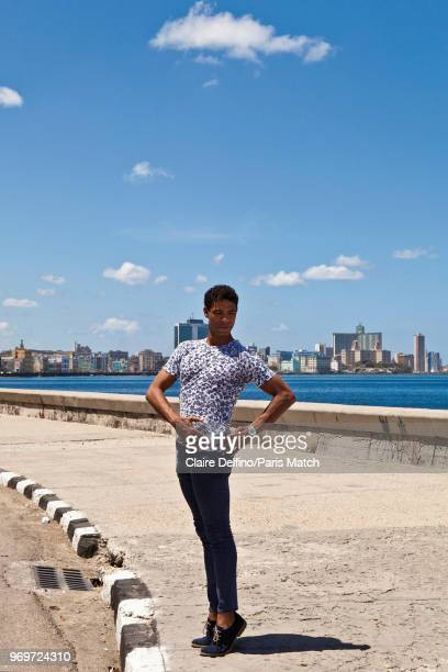 Ballet dancer actor and writer Carlos Acosta is photographed for Paris Match on April 10 2018 in Havana Cuba