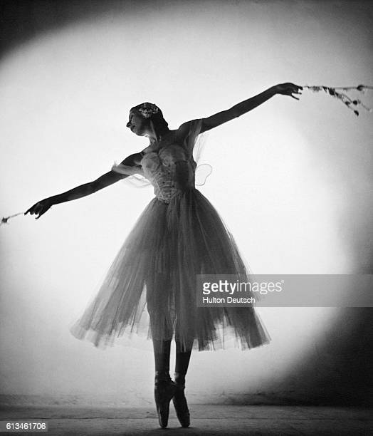 Ballet dancer Alicia Markova performs as Giselle in the ballet of the same name.