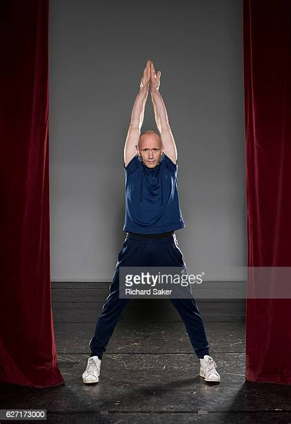 Ballet dancer and choreographer Michael Clark is photographed for the Observer on September 16 2016 in London England
