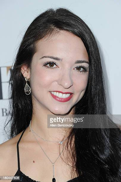 Ballet dancer April Giangeruso attends American Ballet Theatre's annual 'Stars Under The Stars An Evening In Los Angeles' event on September 12 2013...