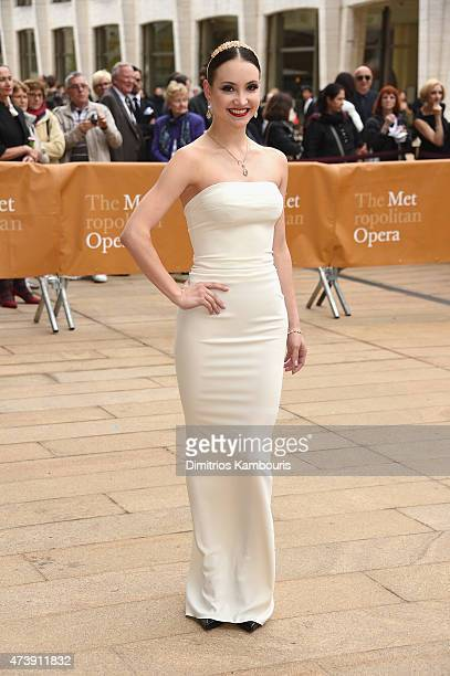 Ballet Dancer Christine Shevchenko attends the American Ballet Theatre's 75th Anniversary Diamond Jubilee Spring Gala at The Metropolitan Opera House...