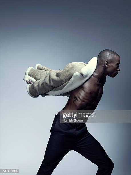 Ballet dancer Eric Underwood is photographed for ES magazine on September 27 2015 in London England