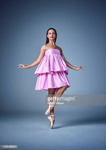 Ballet dancer Francesca Hayward is photographed for the Times magazine on September 23, 2020 in London, England.