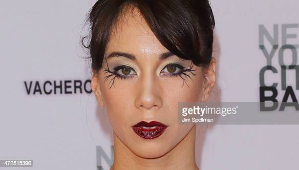 Ballet Dancer Georgina Pazcoguin attends the New York City Ballet 2015 spring gala at David H Koch Theater Lincoln Center on May 7 2015 in New York...