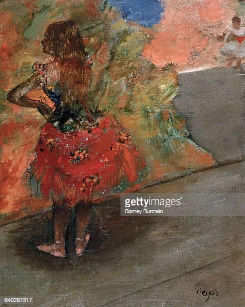 Ballet Dancer in the Wings by Edgar Degas