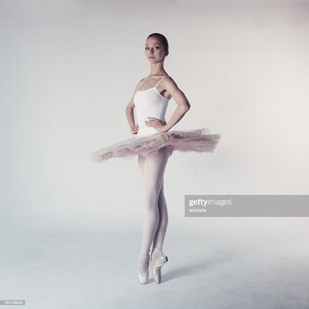 Ballet dancer in tutu : Stock Photo