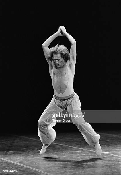Ballet dancer Jorge Donn performs Fragments by Maurice Bejart at the Palais des Congres in Paris, France.