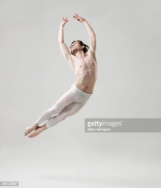 Ballet dancer jumping