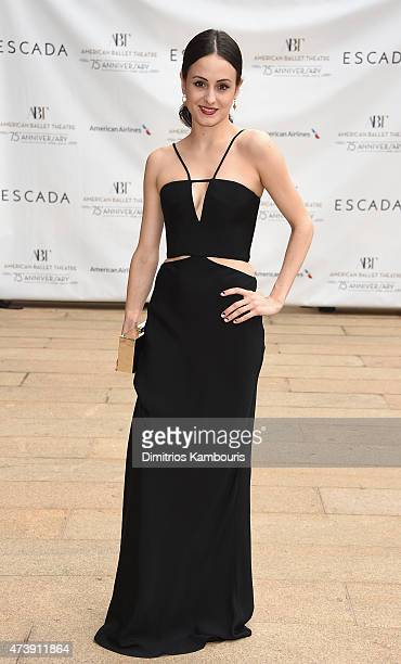 Ballet Dancer Melanie Hamrick attends the American Ballet Theatre's 75th Anniversary Diamond Jubilee Spring Gala at The Metropolitan Opera House on...