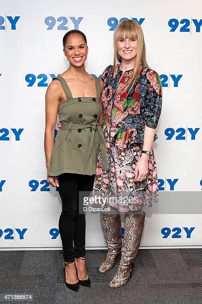 Ballet dancer Misty Copeland and Teen Vogue editorinchief Amy Astley attend 92nd Street Y Presents In Conversation With Misty Copeland and Amy Astley...