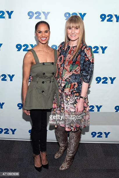 Ballet dancer Misty Copeland and Teen Vogue editorinchief Amy Astley attend the 92nd Street Y Presents In Conversation with Misty Copeland and Amy...