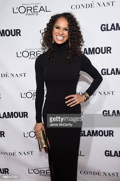 Ballet dancer Misty Copeland attends 2015 Glamour Women Of The Year Awards at Carnegie Hall on November 9 2015 in New York City