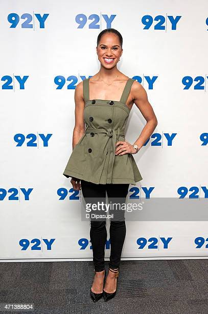Ballet dancer Misty Copeland attends 92nd Street Y Presents In Conversation With Misty Copeland and Amy Astley at 92nd Street Y on April 27 2015 in...