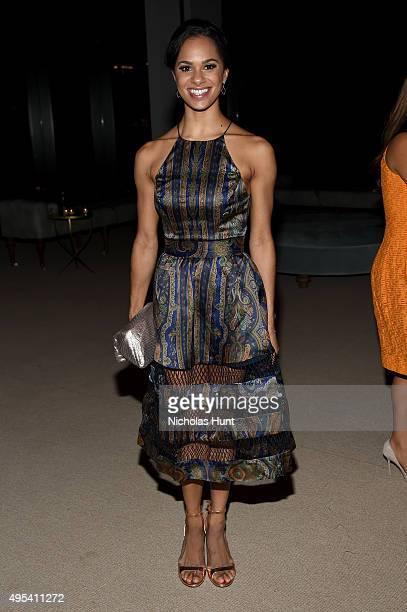 Ballet dancer Misty Copeland attends the 12th annual CFDA/Vogue Fashion Fund Awards at Spring Studios on November 2 2015 in New York City