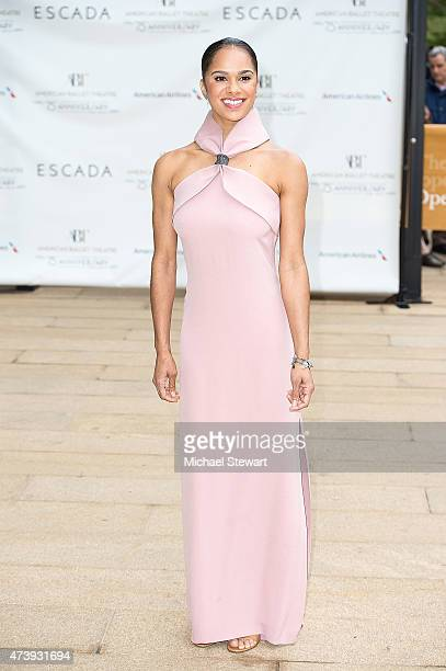 Ballet Dancer Misty Copeland attends the American Ballet Theatre's 75th Anniversary Diamond Jubilee Spring Gala at The Metropolitan Opera House on...