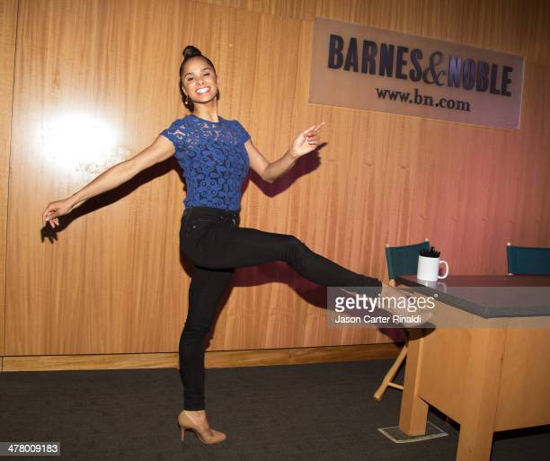 Ballet dancer Misty Copeland attends the Misty Copeland In Conversation With Vogue's Chloe Malle at Barnes Noble 86th Lexington on March 11 2014 in...