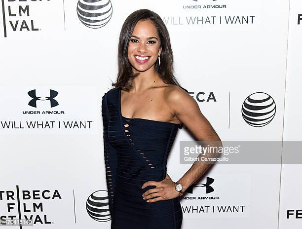 Ballet dancer Misty Copeland attends the World Premiere of the documentary 'A Ballerina's Tale' during the 2015 Tribeca Film Festival at BMCC Tribeca...
