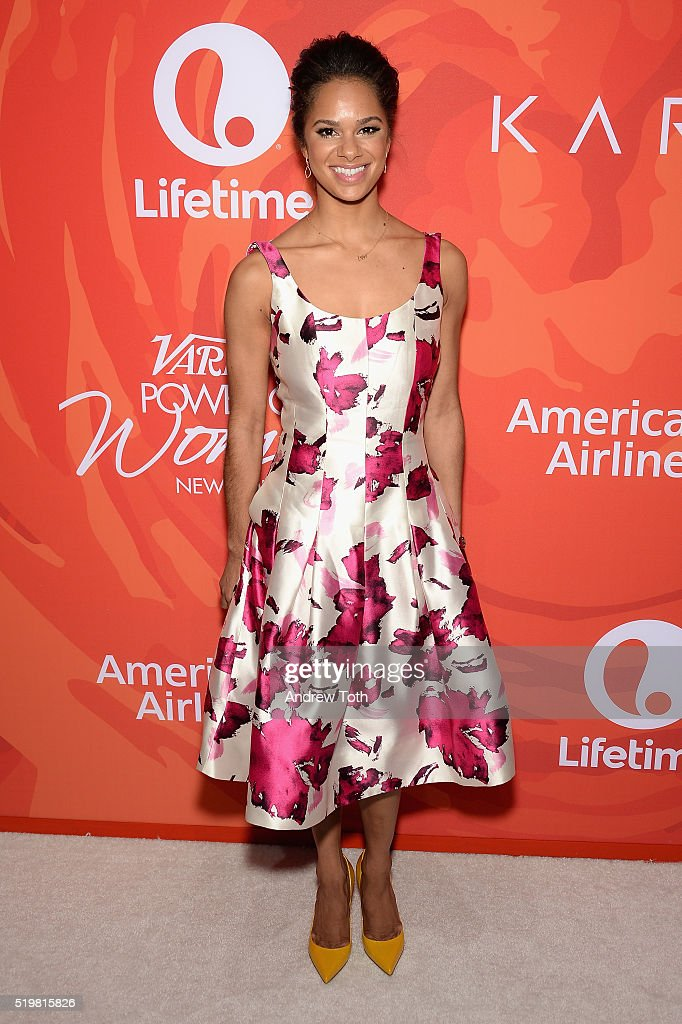 Ballet dancer Misty Copeland attends Variety's Power Of Women: New York 2016 at Cipriani Midtown on April 8, 2016 in New York City.