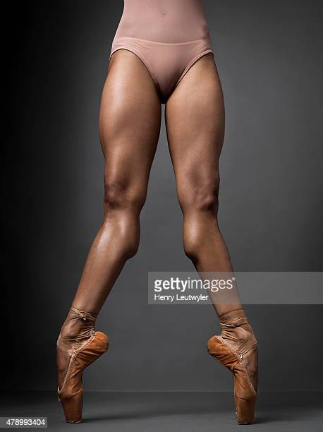 Ballet dancer Misty Copeland is photographed for Self Assignment on April 22 in New York City