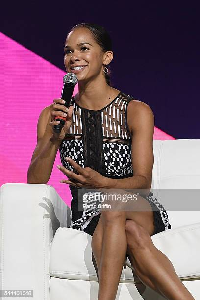 Ballet Dancer Misty Copeland speaks onstage during the 2016 ESSENCE Festival presented By CocaCola at Ernest N Morial Convention Center on July 2...