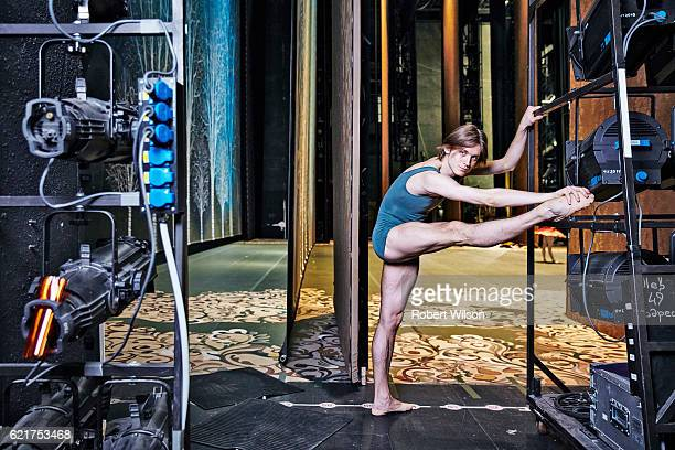 Ballet dancer of The Bolshoi Ballet company Denis Rodkin is photographed for the Times on February 4 2016 in London England