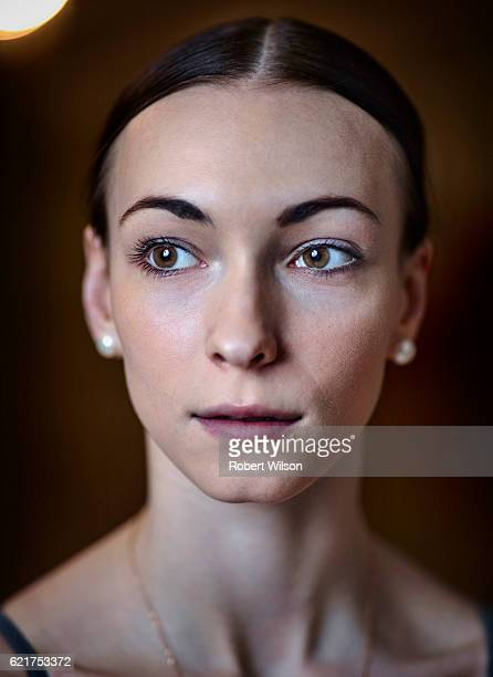 Ballet dancer of The Bolshoi Ballet company Olga Smirnova is photographed for the Times on February 4 2016 in London England