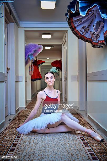 Ballet dancer of The Bolshoi Ballet company, Olga Smirnova is photographed for the Times on February 4, 2016 in London, England.
