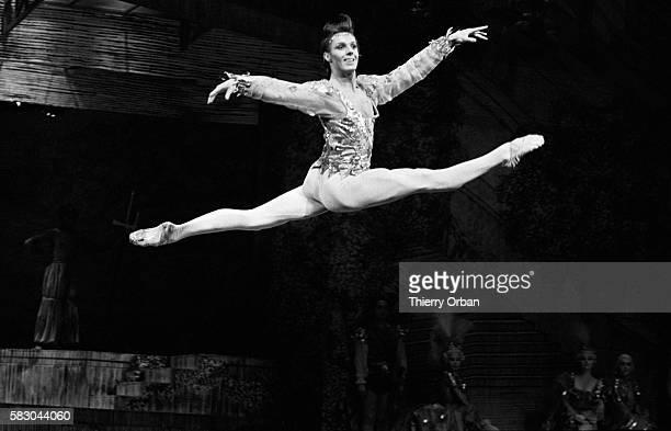 Ballet dancer performs in Sleeping Beauty in Paris Composer Peter Ilich Tchaikovsky