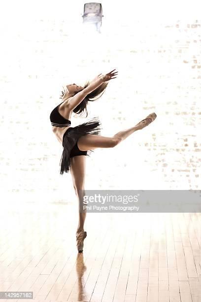 Ballet Dancer perfroming En Pointe