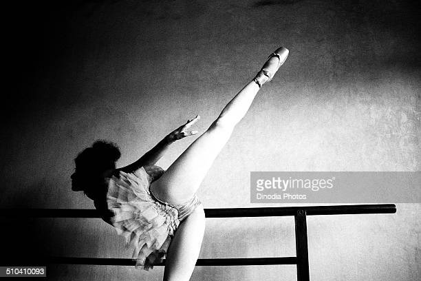 Ballet dancer Phiroza Lally, Mumbai, Maharashtra, India, 1989