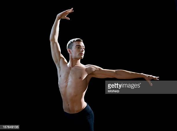 ballet dancer - male ballet dancer stock photos and pictures