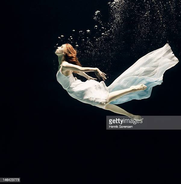 ballet dancer underwater