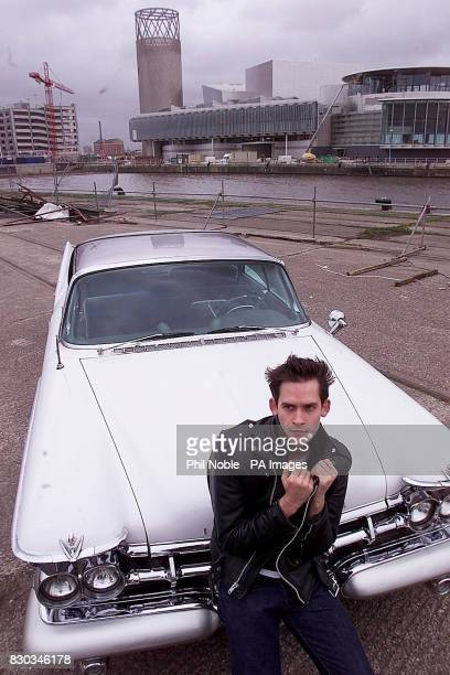 Ballet dancer Will Kemp dubbed the James Dean of Ballet is set to star in 'Car Man' at the new Lowry exhibition centre on the Manchester Ship Canal...