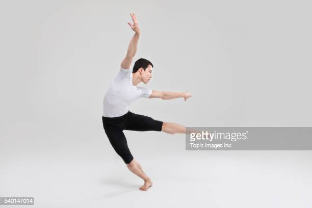 ballet dancer,korean - male ballet dancer stock photos and pictures