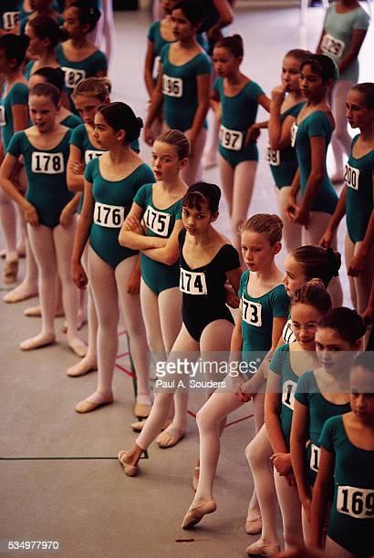 Ballet Dancers at Audition