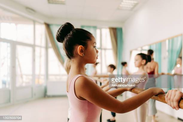 ballet dancers during the class - ballet stock pictures, royalty-free photos & images