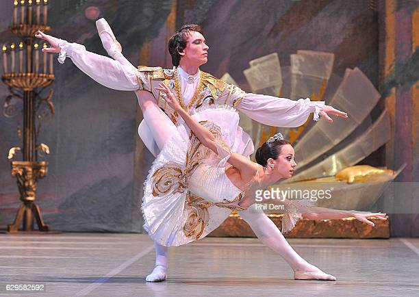Ballet dancers performing in 'Sleeping Beauty' Wimbledon 2010